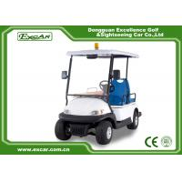 EXCAR Mini Ambulance Golf Cart For Hospital With 1 Stretcher CE Certification Manufactures