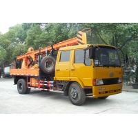 Mobile Truck Mounted hydraulic engineering geological exploration and construction Drilling Rig Manufactures