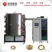 China TiN gold plating machine, Arc Evaporation PVD Vacuum Coating Machine For Stainless Steel Sanitary Ware on sale