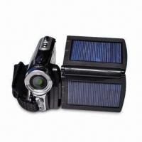 12-megapixel Digital Video Camera with 2.8-inch LCD Display, Dual Solar Panel and Li-ion Battery Manufactures