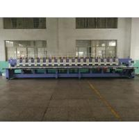 Flat 18 heads 9 colors Embroidery Machine for sale Manufactures