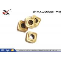 Milling Machine Tools Carbide Milling Inserts SNMX1206ANN Cast Iron Cutting Carbide Inserts Manufactures