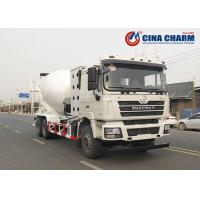 China Rational Structure Concrete Mixer Vehicle With 10 Cubic Meter / 12 Cubic Meter on sale