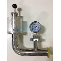 China Stainless Steel Spring Pressure Relief Valve for Tank  Relief Valve with Manometer for Fermentation Tank on sale