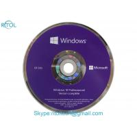 64 Bit DVD OEM Windows 10 Operating System License Home Software French Manufactures