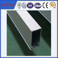 China clear anodized aluminum profile manufacturer supply aluminum pipe Manufactures