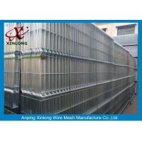 High Resistance Welded Wire Mesh Fence Panel Anti - Corrosion ISO Approved for sale