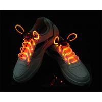 Quality Red-Yellow LED Shoelaces for sale