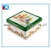China Square Cookie Tin Box /XL-2011 on sale