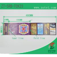 RFID folding ticket ( Product model: ZT-SRB-TCK23) Manufactures