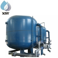 China FRP Tank MultiMedia Activated Carbon Filter For Water Treatment on sale