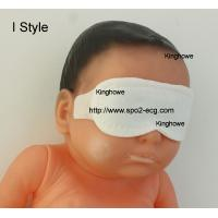 I Style Neonatal Phototherapy Eye Mask Size Custom Blue And White Color Manufactures