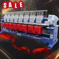 China 10 year service guaranteed cheap 8 head embroidery machine price high speed multi head computerized embroidery machine f on sale