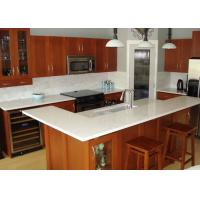 Beige Cabinet Natural Granite Countertops Kitchen Tops Eased Edge Manufactures