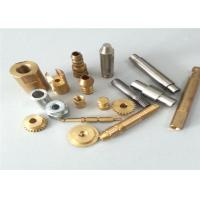 Lathe Turning Brass CNC Turned Parts , Full Inspection Custom Machined Parts Manufactures