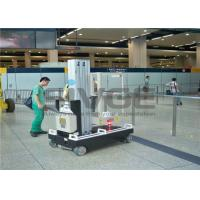 Hydraulic Elevating Platform For Supermarket , Reliable Single Person Man Lift Manufactures