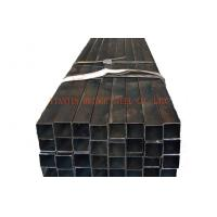 ERW Q235 Square Steel Pipe , Rectangular Steel Tubing ASTM A53 BS1387 Manufactures