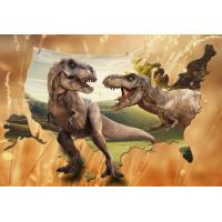 Lifelike Animal Dinosaur 3D Lenticular Postcard 12x17cm Customized Theme Pictures Manufactures