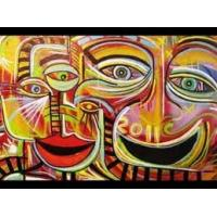 face oil painting on canvas for wall decoration Manufactures