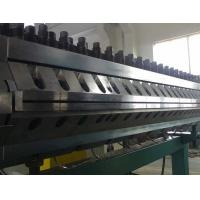 PVC Wavy Plate Plastic Extrusion Machine For Gallery and Clapboard Manufactures