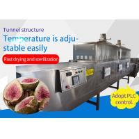 Continuous Mesh Belt Food Sterilization Equipment Of Stainless Steel Structure for sale