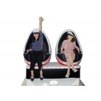 Double Seats  9D VR Simulator With Deepoon E3 3D Glasses Customized Colour Manufactures