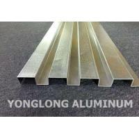 RAL Colour Powder Coated Aluminium Extrusions / Curtain Wall Profile Manufactures