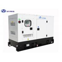 4 Cylinders Engine Soundproof Diesel Generator Set 63kVA Prime Output @ 1500rpm Manufactures