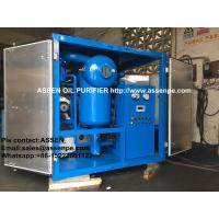 China High Performance High Vacuum Transformer Oil Purification,Insulation Oil Purifier machine on sale