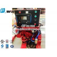 Stable UL Listed 85HP Fire Pump Diesel Engine With Small Housepower Manufactures