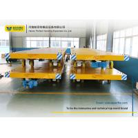 China Easy Operated Heavy Duty Plant Trailer / Material Handling Carts Towing Control on sale