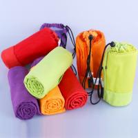 China Microfiber Sport Towel With Bag Swimming Travel Gym Microfiber Towel on sale