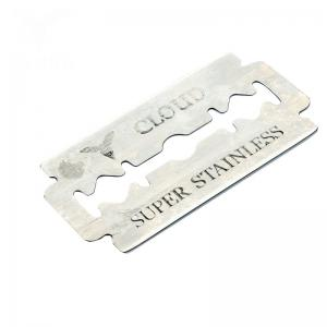 China Teflon Coated Double Edge Safety Razor Blades Disposable 6cr13 SS Material on sale