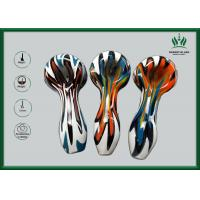Wig Wag Glass Smoking Tubes Hand Held 9mm Thickness Independent Stable Package Manufactures
