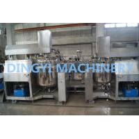 High Shear Mixer Shampoo Production Line , Shampoo Manufacturing Equipment Manufactures