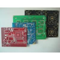 Red / Black Quick Turn Printed Circuit Boards 2 Layer PCB Expedited Service Manufactures