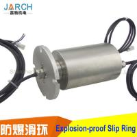 China Conductive Explosion Proof Slip Ring Mine Working 360 Degree Rotating Aluminum Alloy Housing on sale