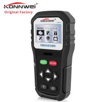 16 Pin Konnwei Car Diagnostic Scanner One-click I/M Readiness OBD2 Code Reader Manufactures