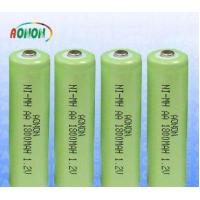 Rechargeable NI-MH Battery Pack   1800mah AA 1.2v Nimh Battery Manufactures