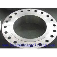 Forged Stainless / Carbon Steel Pipe Flanges , ASTM AB564 Weld Neck Flange Manufactures