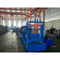 China Low Noise C Z Purlin Roll Forming Machine For Construction Building Material Machinery on sale