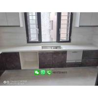China Customized Artificial Stone Marble Kitchen Countertop Stone Solid Surface Countertop on sale