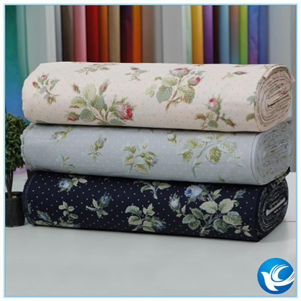 Quality high quality printing shirt fabric 100%cotton 40x40 133x72 for sale