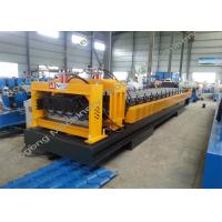 Heavy Duty Glazed Tile Forming Machine , Glazed Tile Making Machine Manufactures