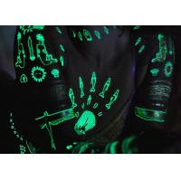 Water Transfer Glow In The Dark Temporary Tattoos Stickers Ultraviolet Blacklight Manufactures