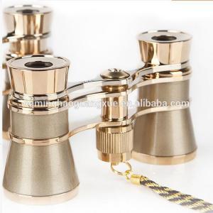 China Elegant Metal Binoculars Opera Glasses 3x25 Roof Prism Type on sale
