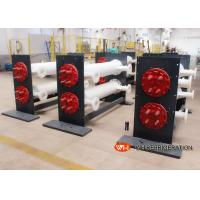 Shell Tube Heat Exchanger Water Cooling For Freezing Industries ,  Leather Chiller Manufactures