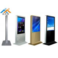 Heavy Duty Floor Standing Digital Signage Monitor 49 Inch For Shopping Mall Manufactures