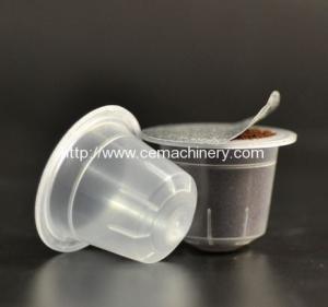 Empty Transparent Plastic Coffee Capsule Manufactures
