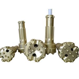 Underground Mining Hardened Drill Bits , SD5 Shank 130mm 140mm 152mm DTH Button Bit Manufactures